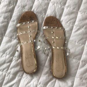 Jessica Simpson Studded Jelly Sandals